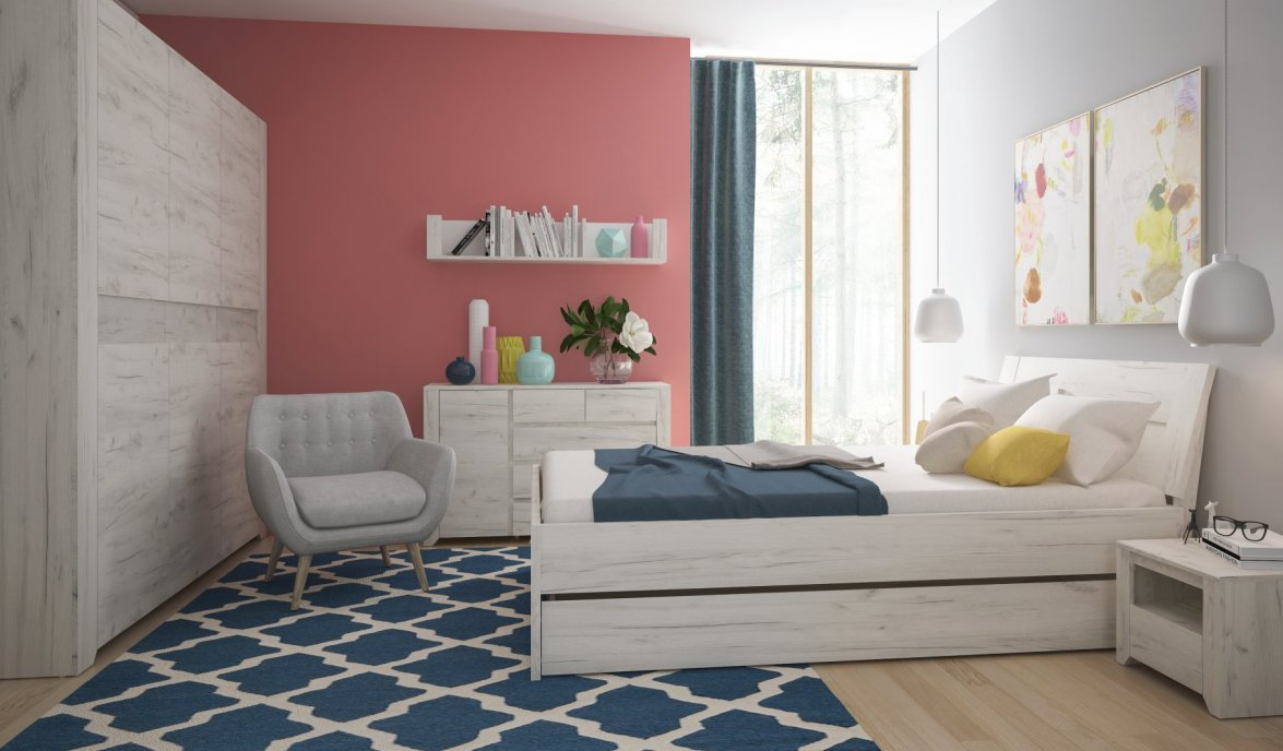 Bedroom furniture - Room type - Modern youth furniture - Meble Wójcik